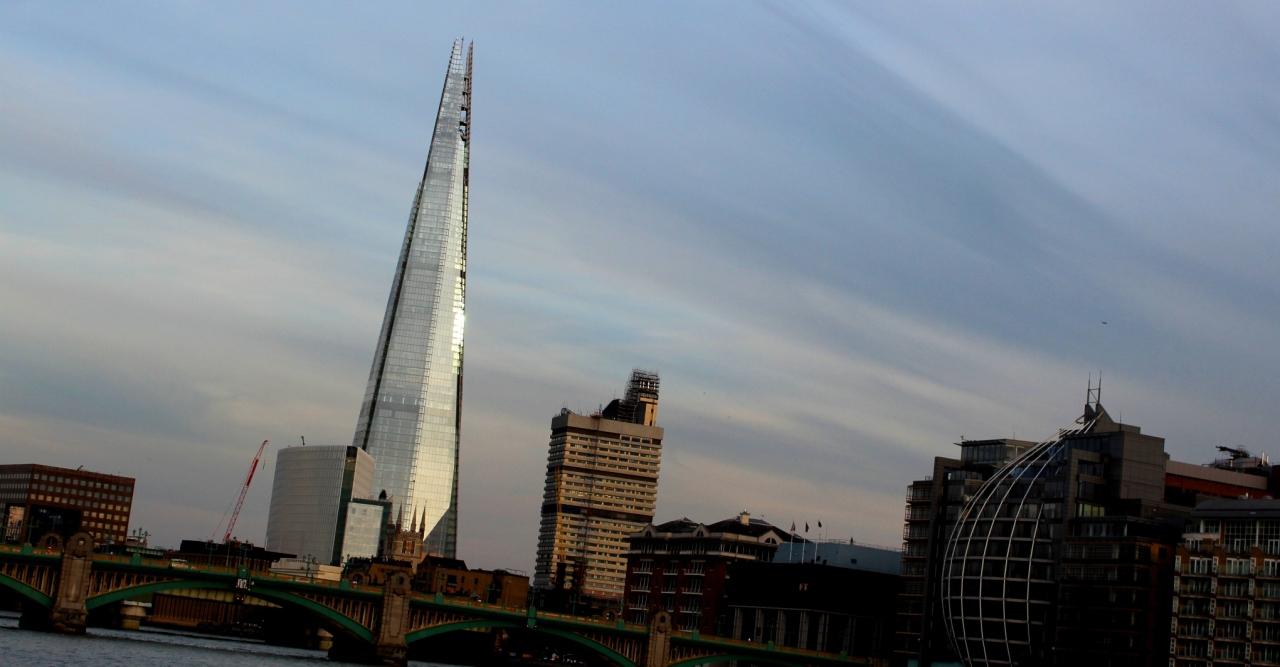 Shard w Londynie