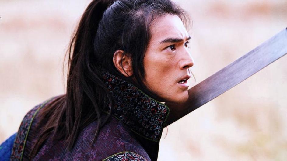 """Takeshi Kaneshiro w filmie """"Dom Latających Sztyletów"""""""