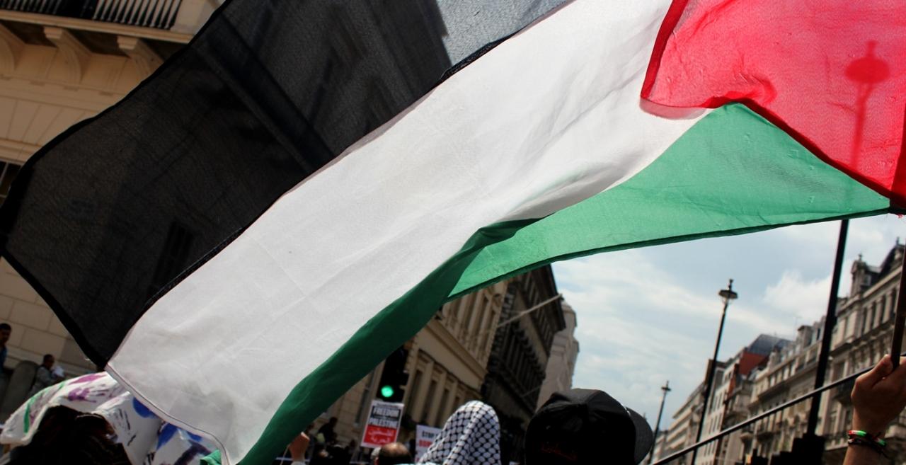 Demonstracja solidarności z Palestyńczykami, Londyn 19 lipca 2014