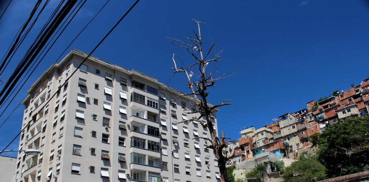 Fawela w Rio de Janeiro