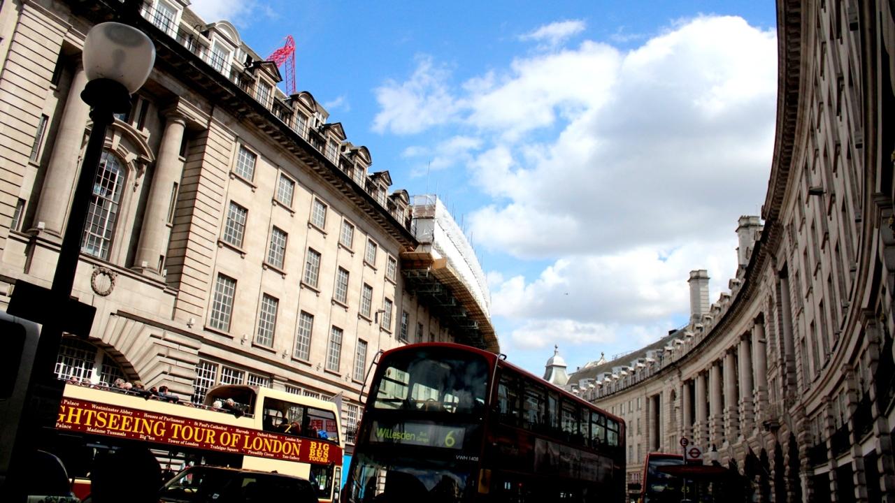 Regent Street w Londynie