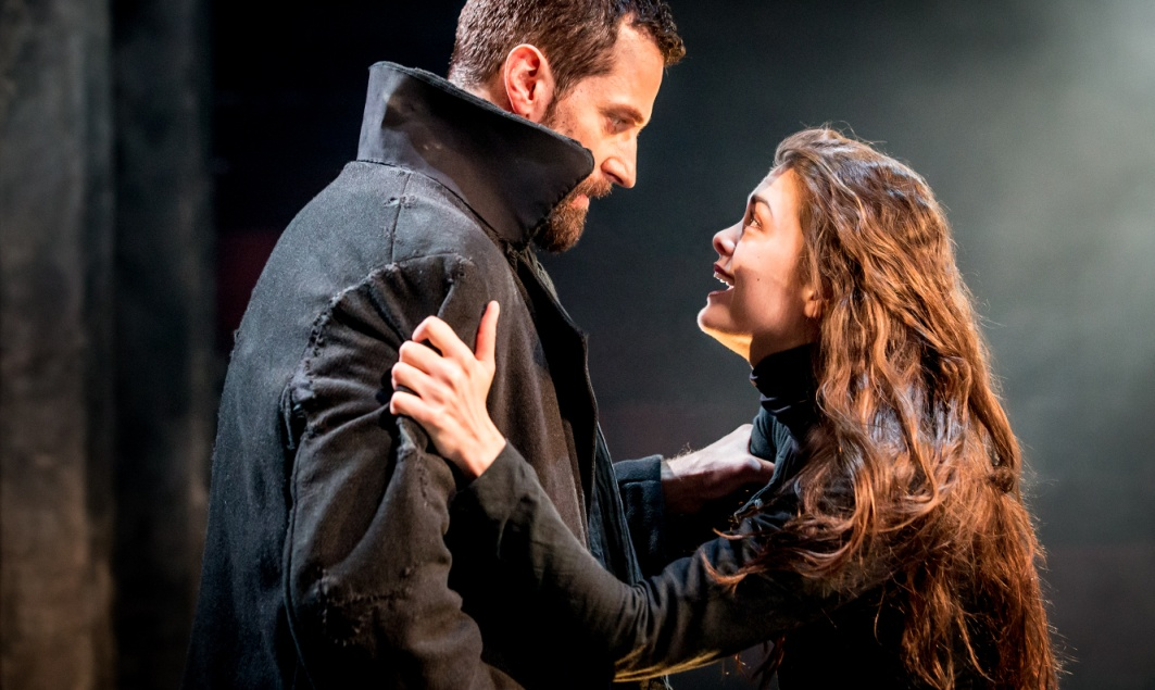 The Old Vic_The Crucible_Richard Armitage (John Proctor) and Samantha Colley (Abigail Williams) photo credit Johan Persson
