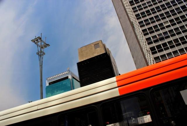 Avenida Paulista, finansowy dystrykt Sao Paulo