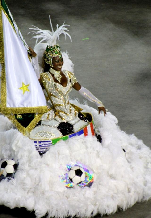 Parada szkół samby, Sambodrom, Rio de Janeiro