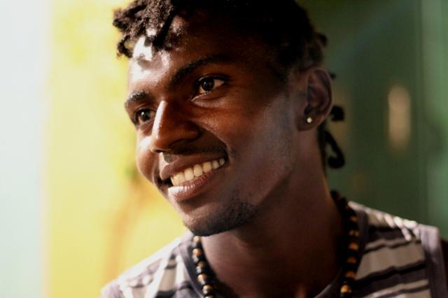 Adelmar, capoeirista znany w Salvadorze jako Negro Drama