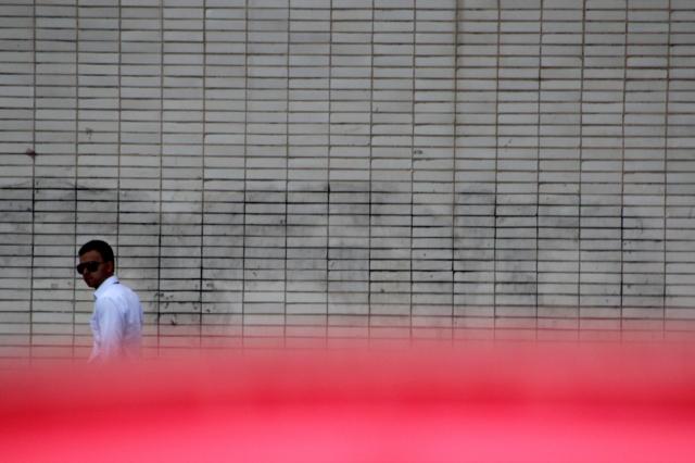 Przed budynkiem jednego z ministerstw w Brasilii