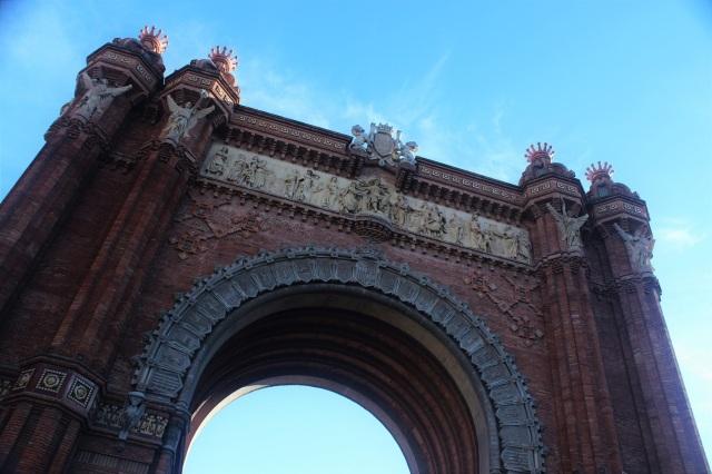 Barcelona luk triumfalny