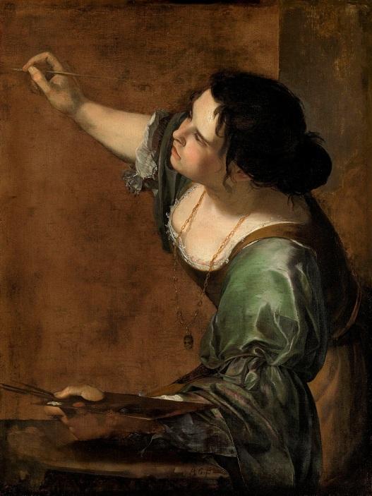 Artemisia Gentileschi Alegoria malarstwa